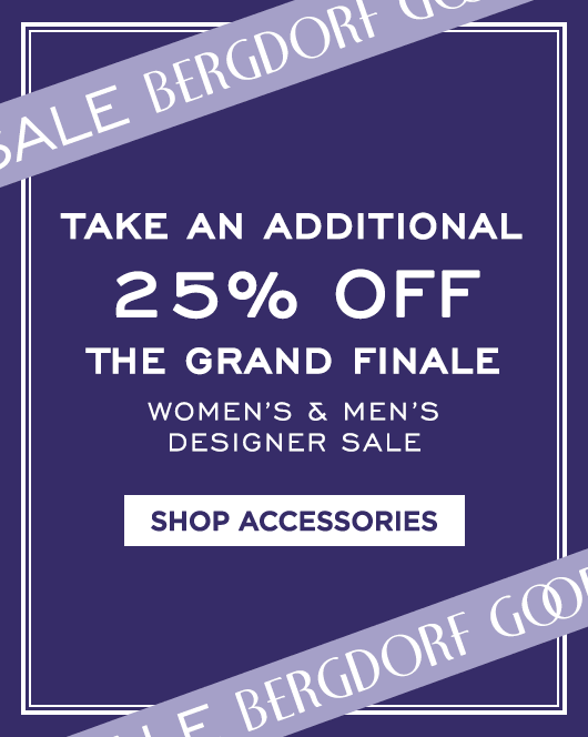 Extra 25% Off Grand Finale Sale - Accessories & Jewelry