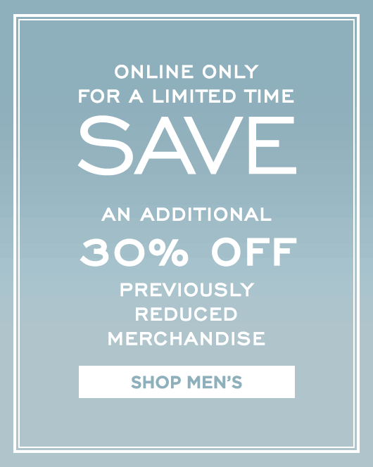Additional 30% Off Sale - Mens