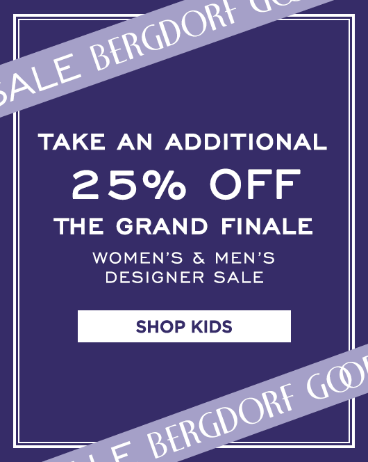 Extra 25% Off Grand Finale Sale - Kids