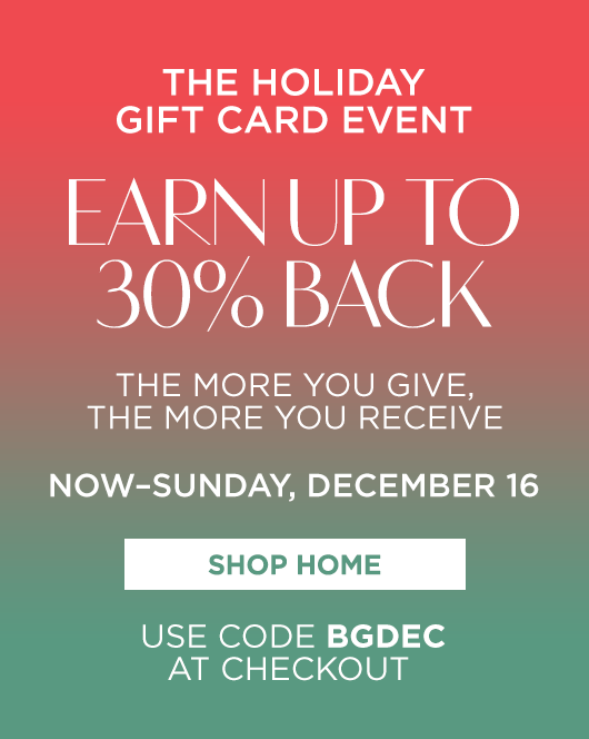 The Holiday Gift Card Event - Home