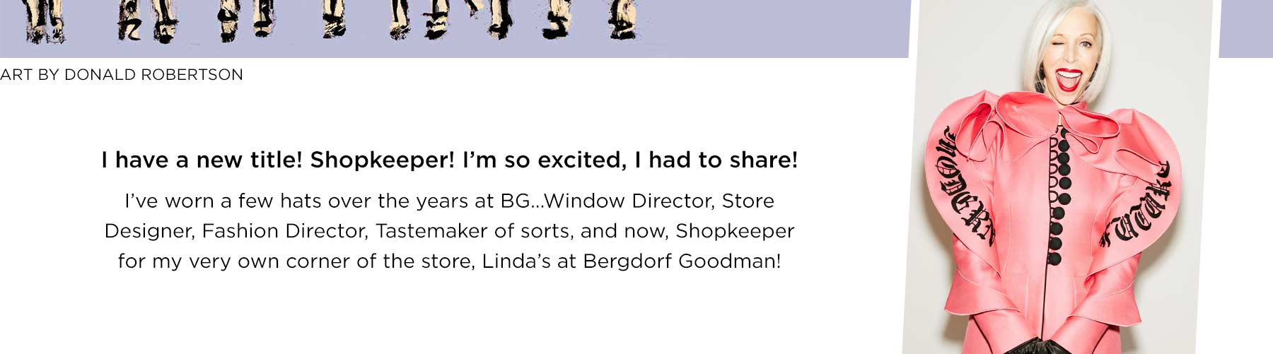 Linda???s At Bergdorf Goodman