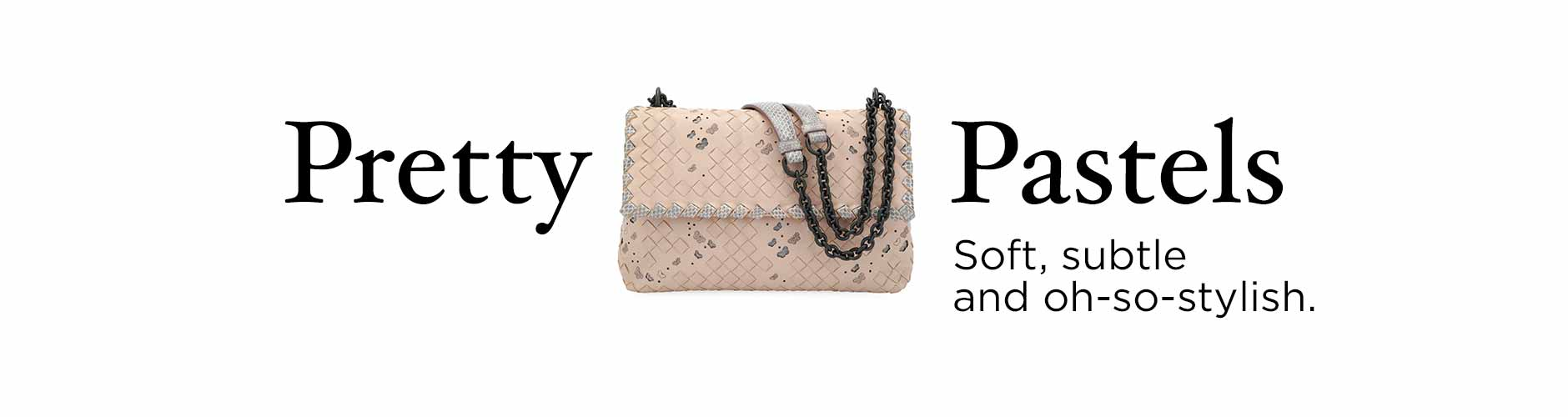 Spring Collections - Trend: Pretty Pastels Handbags