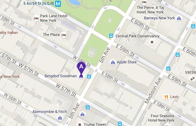 Map Of New York Restaurants.Bg Restaurant At Bergdorf Goodman Women S Store In New York City Ny