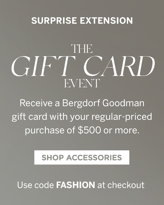 The Gift Card Event - Shop Accessories