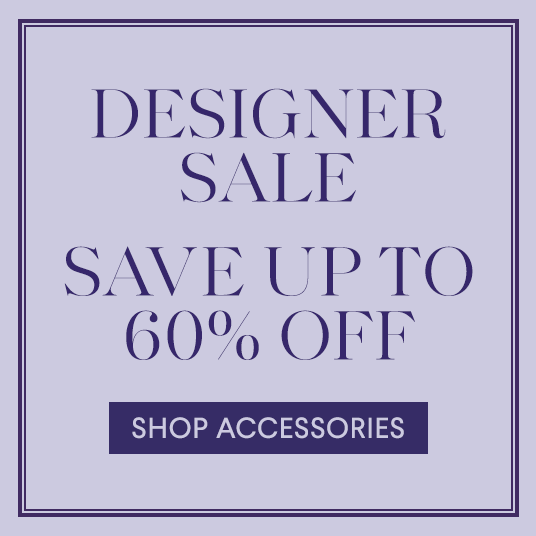 Designer Sale - Jewelry & Accessories