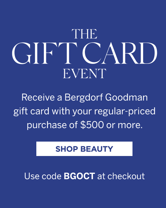 The Gift Card Event - Shop Beauty