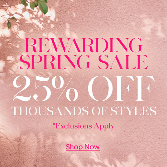 Rewarding Spring Sale
