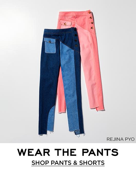 bffdd663 Designer Pants & Shorts for Women at Bergdorf Goodman