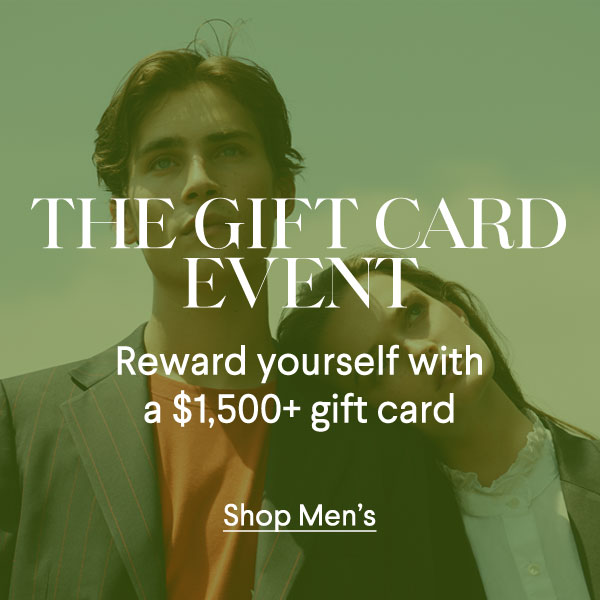 Gift Card Event - Men