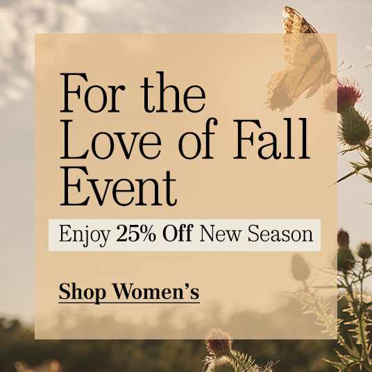 25% Off New Season - Womens' Clothing