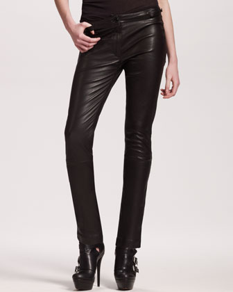 Ann Demeulemeester Skinny Leather Pants