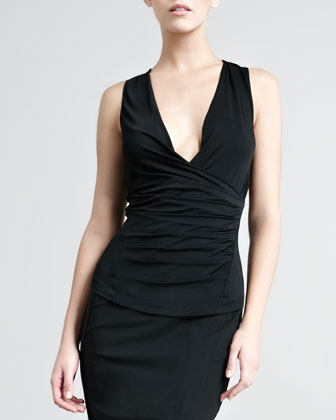 Donna Karan Superfine Jersey Top