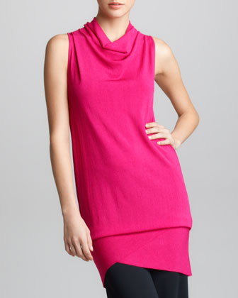 Donna Karan Asymmetric Convertible Tunic