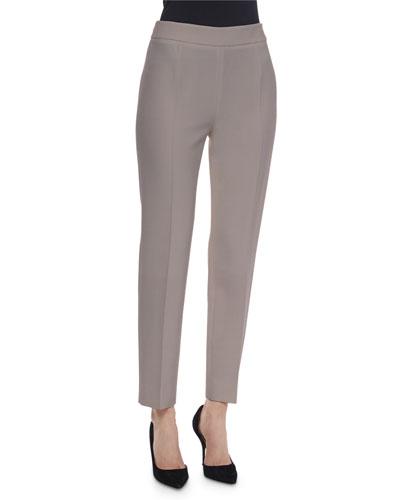 Wool-Cashmere-Blend Slim-Fit Pants