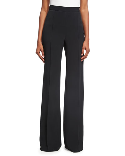 Classic Side-Zip Pants, Black