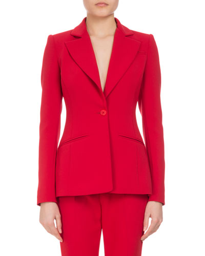 Acacia One-Button Jacket