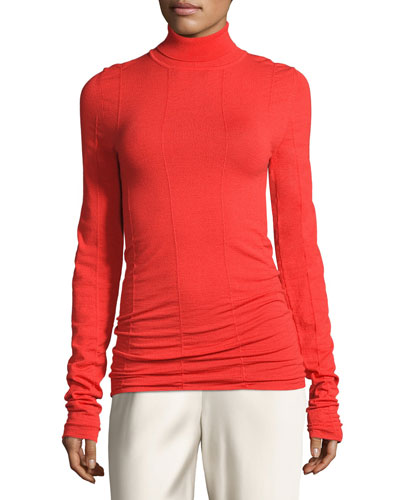 Anabe Knit Turtleneck Sweater