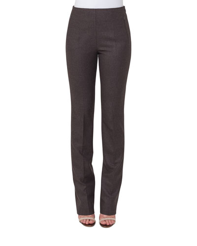 Constance Flannel Stretch Wool Slim Pants