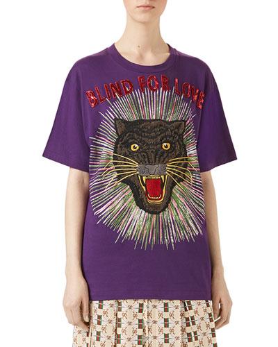 Blind for Love T-Shirt, Violet
