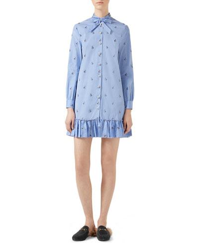 Rabbit Fil Coup&#233 Long Shirt, Light Blue