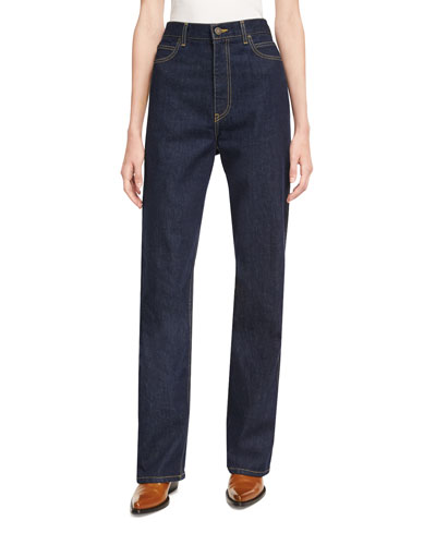 Five-Pocket Denim Jeans