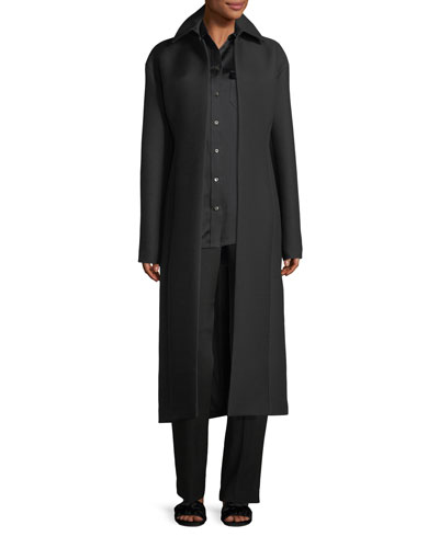 Lafrom Double-Face Wool Duster Coat