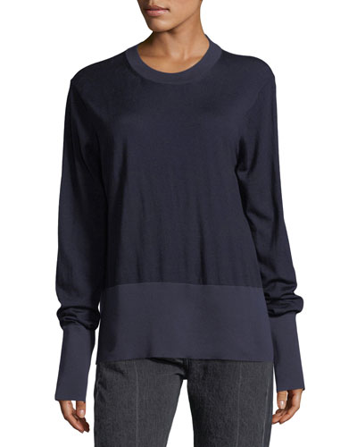 Nalodi Paneled Sweatshirt