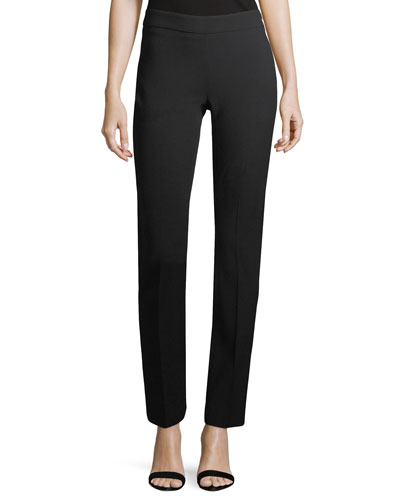 SIDE ZIP STRAIGHT LEG PANT