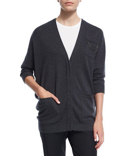 2-Ply Cashmere Cardigan