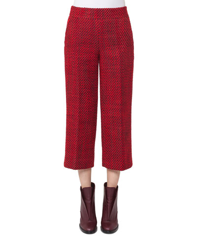 Miami Tweed Culotte Pants