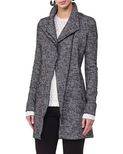 Jersey Tweed  Biker Jacket
