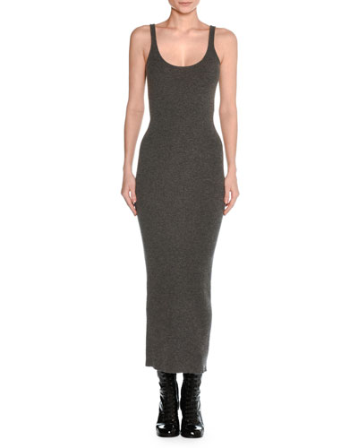 Knit Tank Midi Sweaterdress