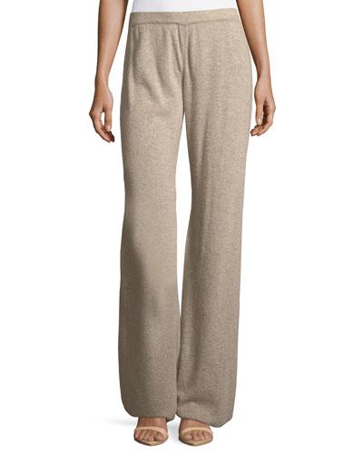 Knit Wide-Leg Pants