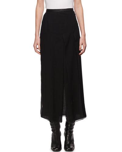 Long Asymmetric Skirt