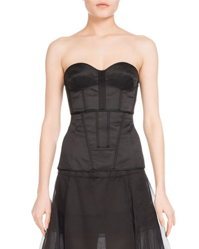 Strapless Sweetheart Bustier Top