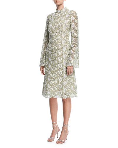 Sochi Long-Sleeve Lace Dress