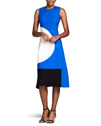 The Everett Circle & Square Dress