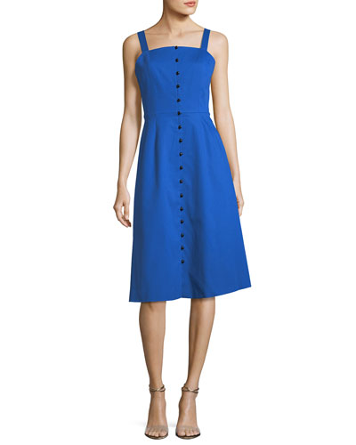 The Granville Button-Front Dress