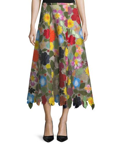 Hodges Podges A-Line Skirt