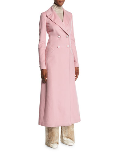 Isabella Double-Breasted Cashmere Coat