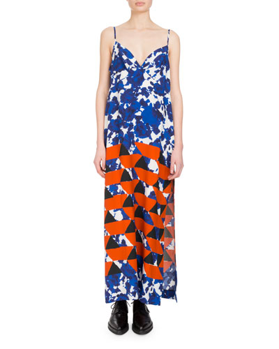 Deminga Graphic-Print Cami Dress