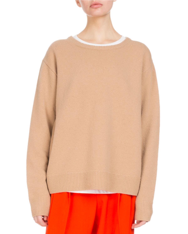Tibia Oversized Crewneck Sweater