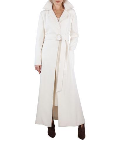 Long Double-Face Cashmere Coat