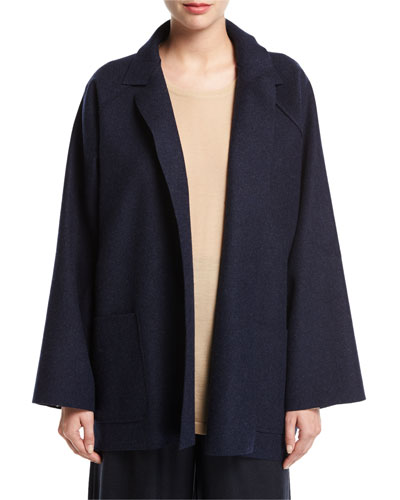 Long Open-Front Jacket