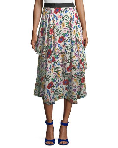 The York A-Line Skirt