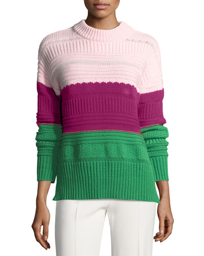 The Wadsworth Knit Colorblock Sweater