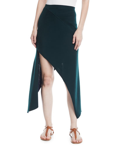 Reversible Pinwheel Midi Skirt