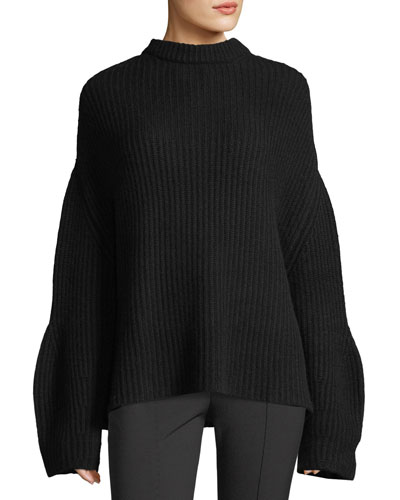 Oversized Knit Cashmere Sweater