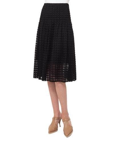 Punto Lace Midi Skirt