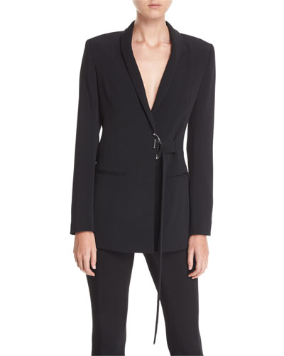 Shawl-Collar Cady Jacket